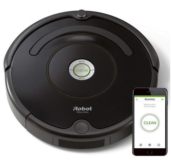 robot iroomba 671 aspirateur