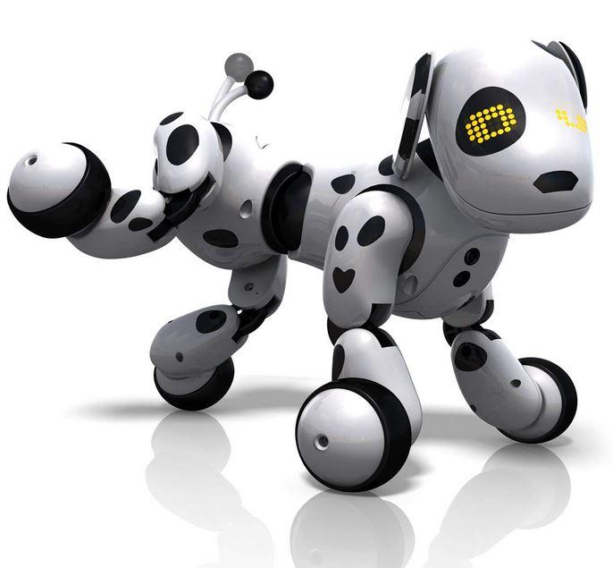 chien robot zoomer dalmatien
