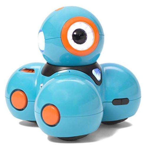 robot intelligent dash wonder workshop pour enfant
