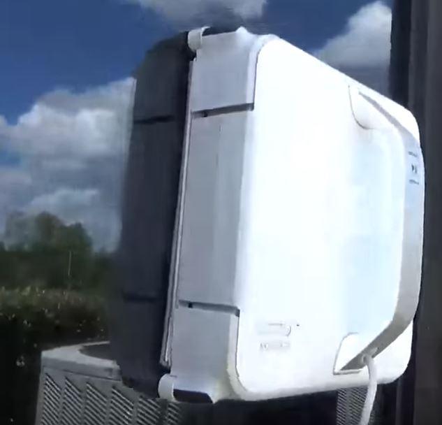 robot laveur de carreaux
