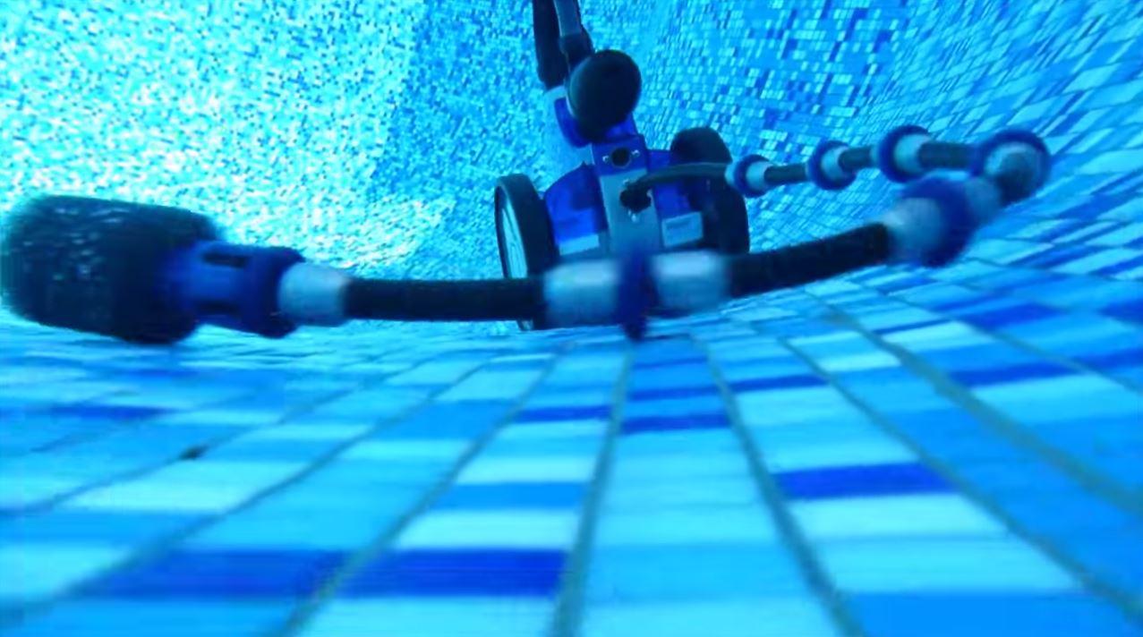 robot piscine pression