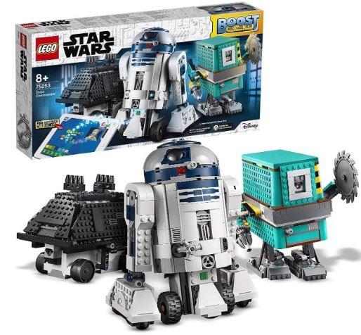 3 robots droides star wars de chez lego