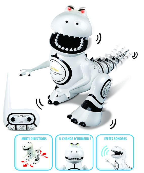 Ycoo robot dinosaure de silverlit
