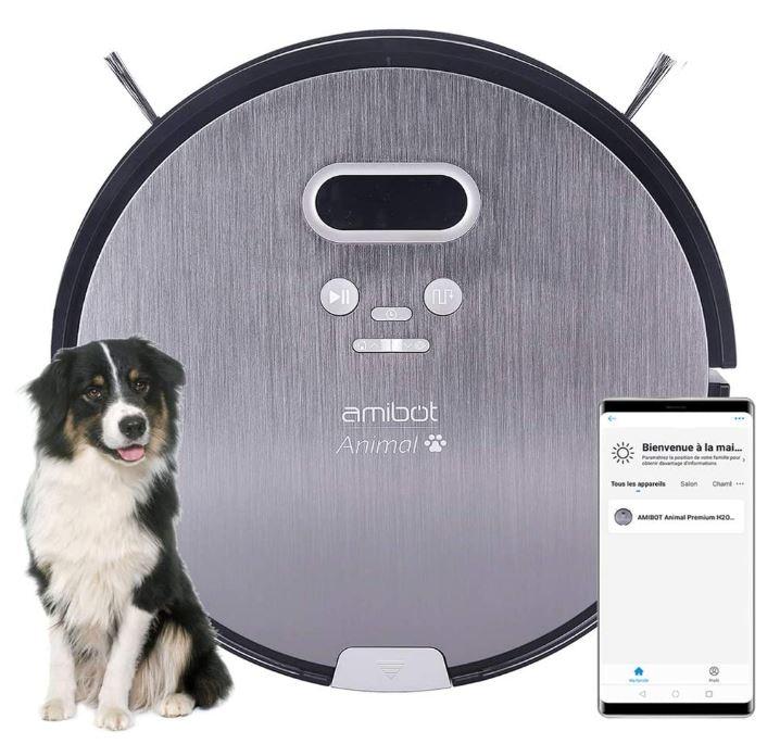 amibot animal premium h2o connect aspirateur robot