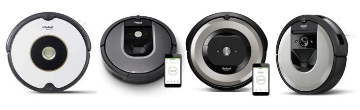 gamme roomba des robots aspirateurs iRobot