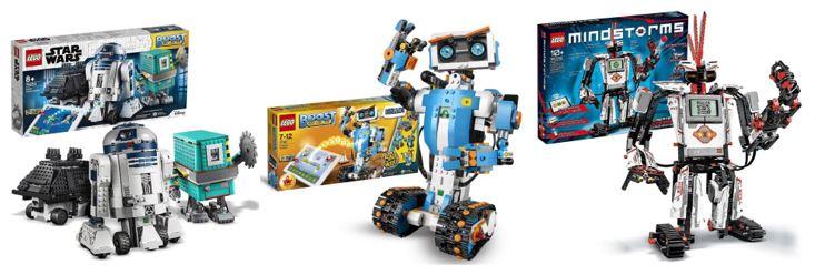 robot lego top 3 robots programmables
