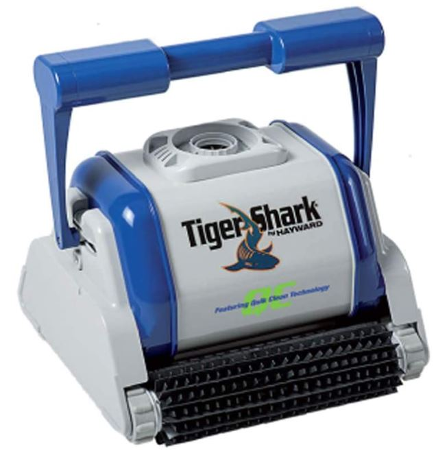 tigershark quick clean robot pour piscine de hayward