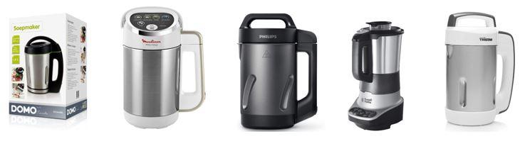 top 5 robots soupes meilleurs blender chauffants