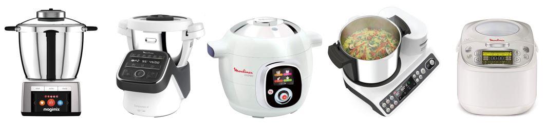 comparatif robots cuiseurs multifonctions