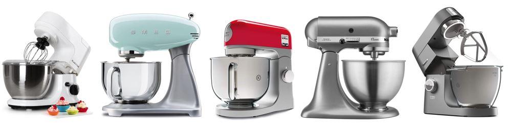 comparatif robots pâtissiers