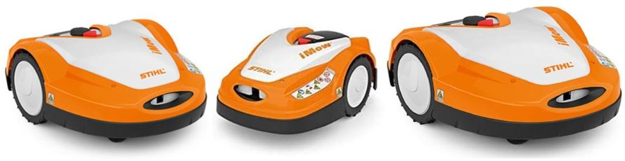 gamme de robots tondeuses iMOW du fabrican Stihl
