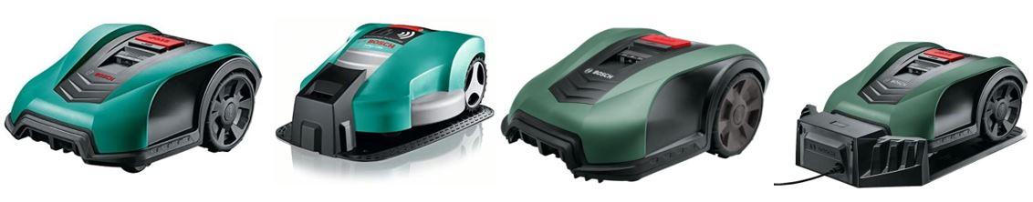 gamme indego des robots tondeuses Bosch