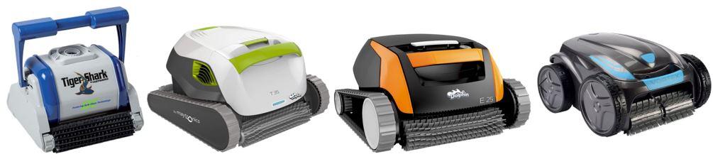selections de robots de piscines electriques