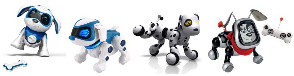 comparatif chiens robots