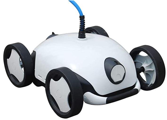 nettoyeur robotise electrique Falcon de la marque Bestway pour piscine a fond plat